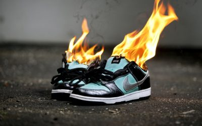 Keep burning your Nikes